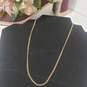 Vintage B.A.B 14KT GP Chain Necklace